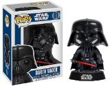 Darth Vader: Funko POP! x Star Wars Vinyl Bobble-Head Figure w/ Stand