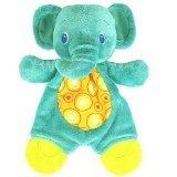 Bright Starts Snuggle & Teethe Blue Elephant Teether - 1