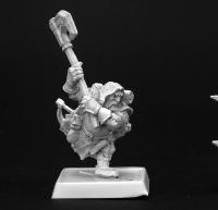 Reaper Miniatures 60004 Pathfinder Series Harsk, Dwarf Ranger Miniature REM60004
