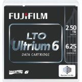 FUJI LTO-6 16310732 Ultrium-6 Data Tape Cartridge (2.5TB/6.25TB) Barium Ferrite [bafe]