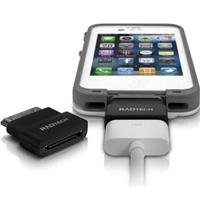 RadTech 13-860 ProCable Shortz Dock Extender for iPhone, iPod and iPad - Black