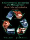 Environmental economics and management:theory- policy- and applications