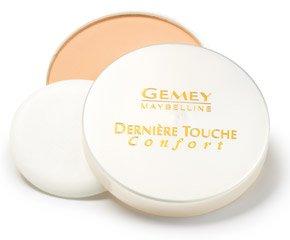 Poudre compacte Derniere Touche confort GEMEY MAYBELINE, chair doree, 16g