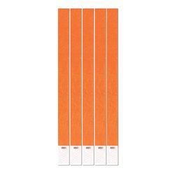 Tyvek Wristbands (neon orange) (100/Pkg)