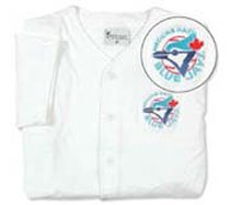 Minor League Baseball Medicine Hat BlueJays Youth Jersey (Youth Medium)