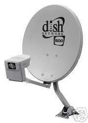 Dish Network 500 Satellite Dish with Quad LNB