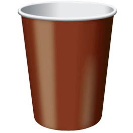 Chocolate Brown 9oz - PaperCups
