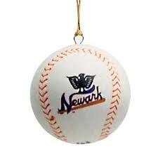 Negro League Licensed Baseball Ornament - 1942 Newark Eagles