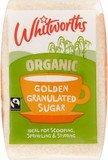 Whitworths Organic Golden granulated Fairtrade sugar
