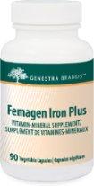 Femagen Iron Plus (90 Caps) Genestra Brand: Genestra