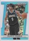 Ricky Rubio #111/199 Detroit Pistons, Minnesota Timberwolves (Basketball Card) 2013-14 Panini Prizm Light Blue Prizms Die-Cut #129