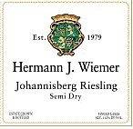 Hermann J. Wiemer Riesling Semi-Dry 2007 750Ml