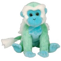 TY Beanie Baby - ZOOMER the Monkey (BBOM February 2006)