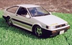 ISD-08 Initial D Levin AE85 1500SR 1/24 Scale Kit