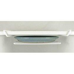 Panacea Grayline 40219 Under Shelf Platter Rack, White (Grayline Rack compare prices)