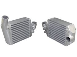 """CXRacing-Side Mount Intercooler?Core Size: 8""""x7.5""""x3.5"""", 2"""" Inlet & Outlet"""
