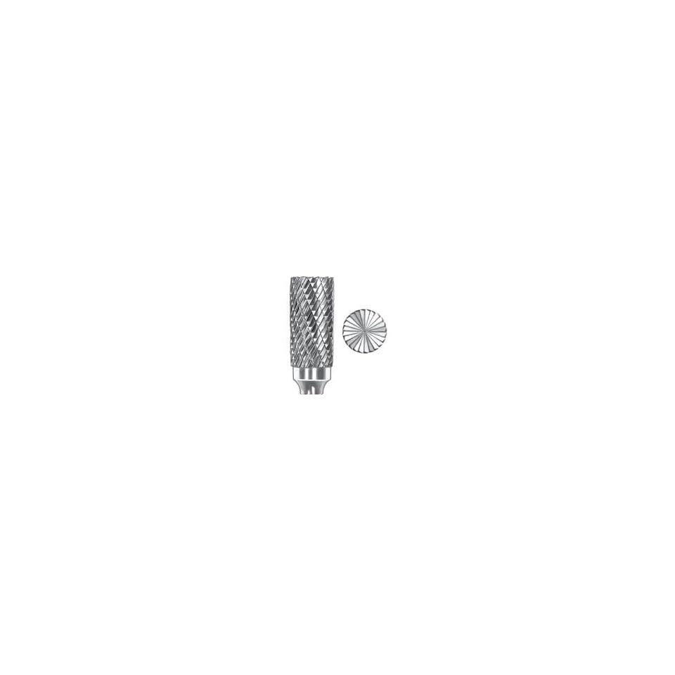 SGS Tool Company 10307 SB-3 Deep Double Cut Bur Ta Carbide Bur 3//8 Diameter 1//4 Shank Diameter