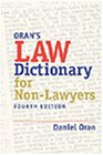 Law Dictionary for Nonlawyers (Paralegal Reference Materials)