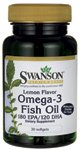 Lemon Flavor Omega-3 Fish Oil 30 Sgels