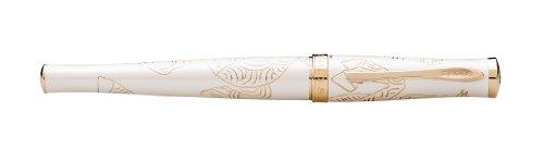 Cross Bolígrafo de tinta de gel Year of the Horse lacado en Blanco Imperial