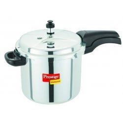 Prestige-Deluxe Stainless Steel Pressure Cooker 5.5 Lt