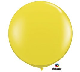 Citrine Yellow Jewel 3' Latex Balloon
