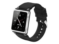 iWatchz CLRCHR22BLK Q Collection Wrist Strap for iPod Nano 6G-Black