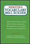 WEBSTER'S VOCABULARY SKILL BUILDER (0760755426) by Editors