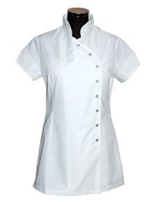 White beauty tunic salon wear health care uniform amazon for Spa uniform amazon
