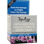 Reviva Alpha Lipoic Acid, C Ester & DMAE Cream 2oz