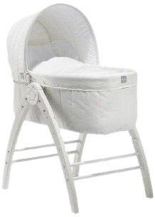 """Baby Dan 2651-04-01-02-85 - Struttura """"Angel"""" completa di culla, materasso, sdraietta, seggiolone e riduttore"""