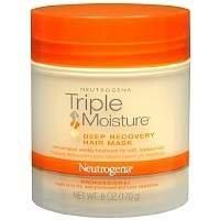 Neutrogena Triple Moisture Deep Recovery Hair Mask, 6 oz