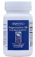 Allergy Research Group PREGNENOLONE 100MG, TABS 60