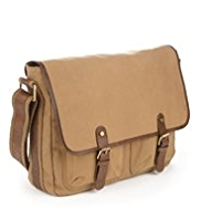 Pure Cotton Canvas Waxed Dispatch Bag