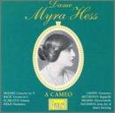 echange, troc Myra Hess, Mozart, Bach, Scarlatti, Chopin - Cameo