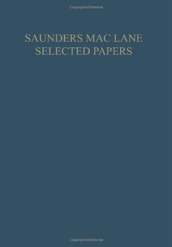 Saunders Mac Lane Selected Papers