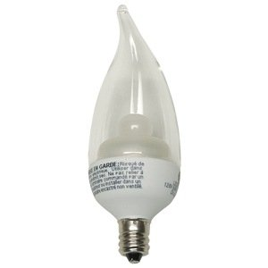LED Light Bulb, CA11, 2700K, Soft White