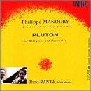 Philippe Manoury: Sonus ex Machina: Pluton