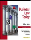 Business Law Today, Standard Edition: Text, Summarized Cases, Legal, Ethical, Regulatory, and International Environment  with the On-line Legal Research Guide (032400222X) by Roger Leroy Miller
