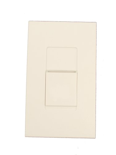 Leviton MNX10-1LW 1000VA, 120 Volt, Single-Pole & 3-Way, Monet Preset Digital Electronic Mark 10 Powerline Fluorescent Slide Dimmer, Narrow Fin, White (Levitron Electronic Dimmer compare prices)