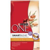 Purina One Dog Food - Chicken & Rice Formula, 5 Pack
