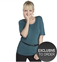 Twiggy for M&S Collection Scoop Neck T-Shirt