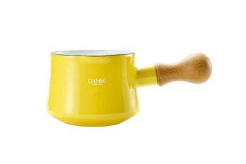 Dansk Kobenstyle Bistro Enamel Butter Warmer Color: Yellow
