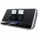 Jvc Nx-Pn7 Dual Ipods Clock Radio