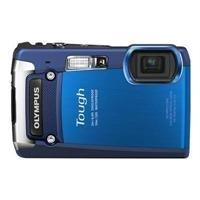 Olympus TG-820 Blue Tough iHS Shock Waterproof Digital Camera (Blue)