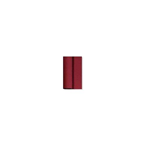 Duni Dunicel Tischdeckenrolle Bordeaux 1,25 m x 10 m, Tischdecke Bordeaux, Papiertischdecke Bordeaux, Tischdecke Hochzeit, Tischdeckenrolle, Tischdekoration Bordeaux