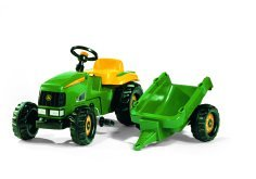 Rolly Toys Rolly Kid John Deere Tractor and Trailer