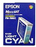 EPSON IC1LC07 インクカートリッジ ライトシアン(PM-7000C用)