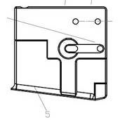 #05 Magazine Housing (well or kit) - paintball gun replacement part