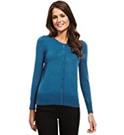 M&S Collection Bobble Button Cardigan